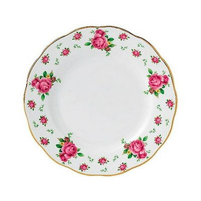 Тарелки NEW COUNTRY ROSES WHITE VINTAGE