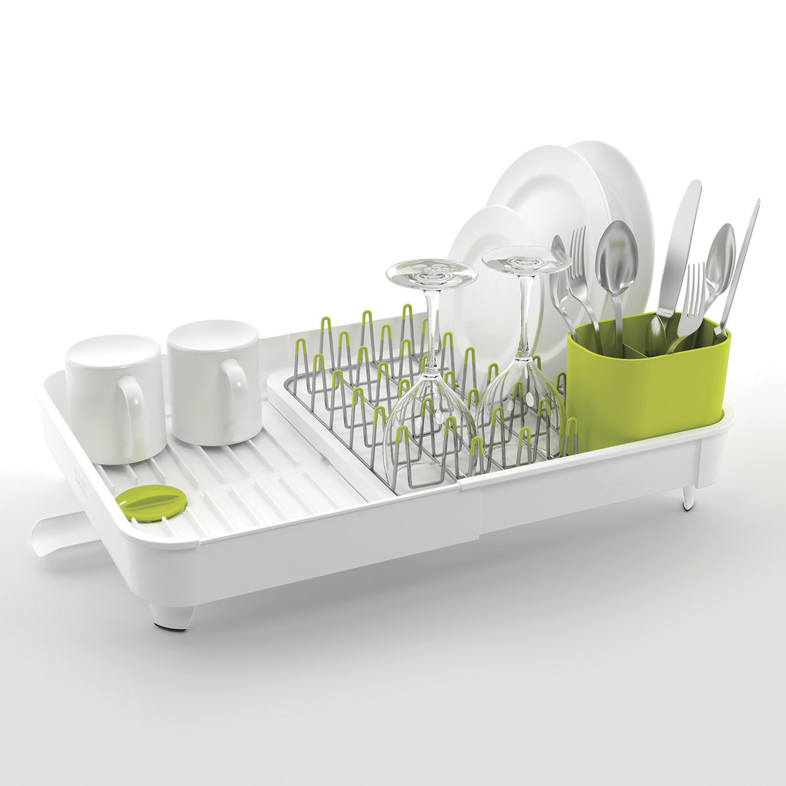 85071 Сушилка для посуды Joseph Joseph Extend-Expandable dish rack White