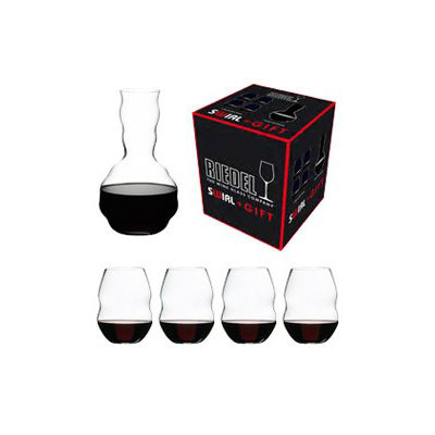 5450/35 набор для вина 4 Red Wine + Swirl Decanter, 5 шт SWIRL Riedel